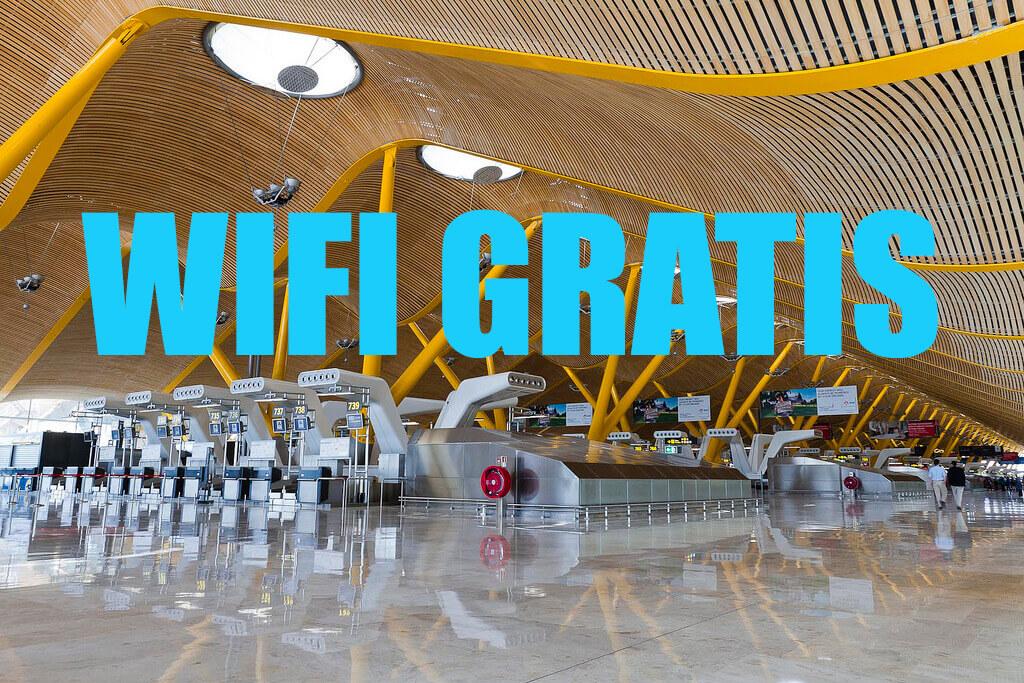 WIFI aeropuerto barajas