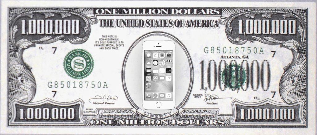 1 millon de iphones
