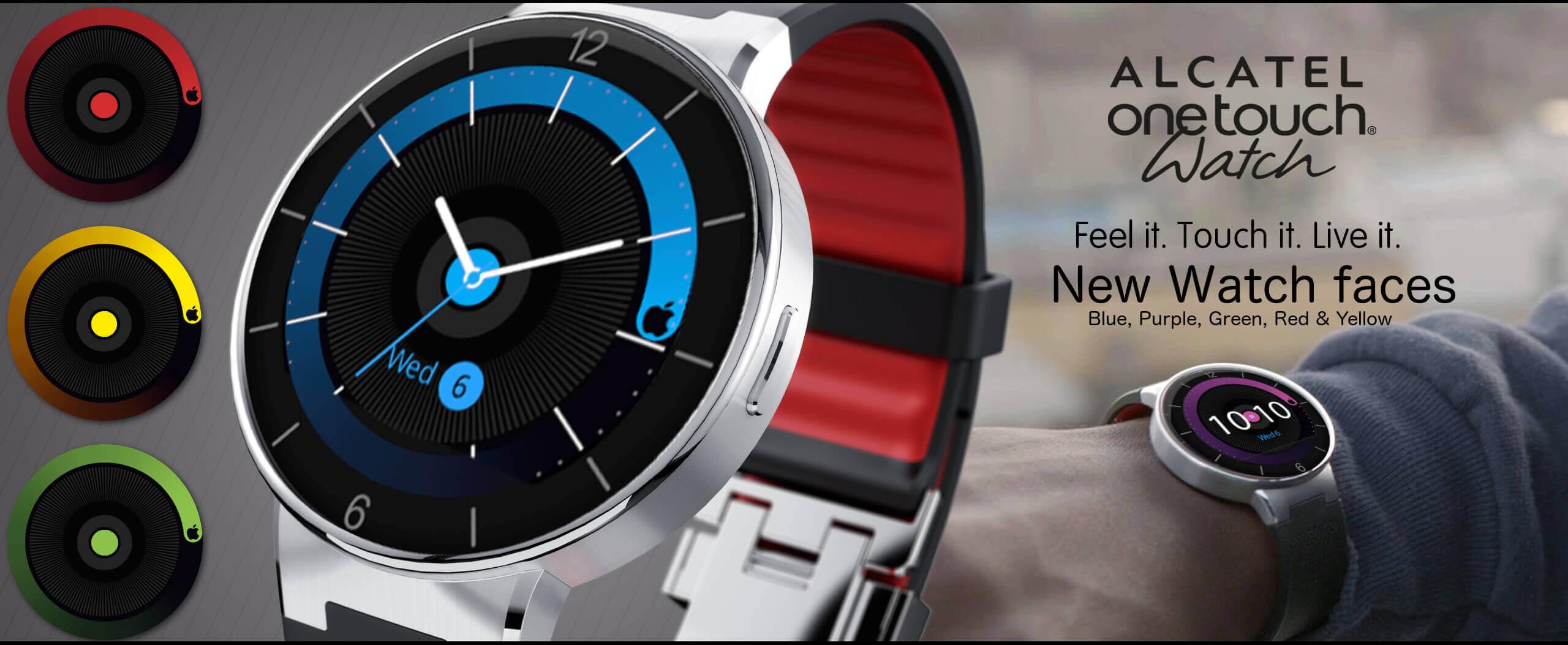 Alcatel presenta su reloj inteligente OneTouch Watch en ...