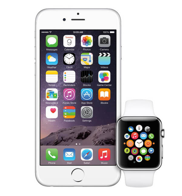Apple Watch con IPhone-6