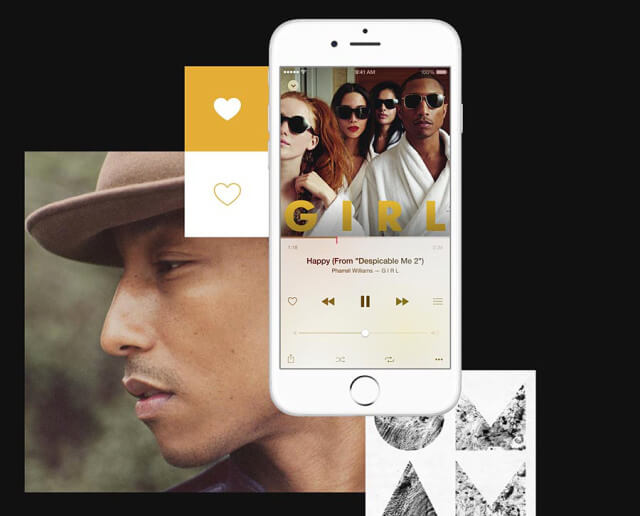 Apple Music Pharrel Williams