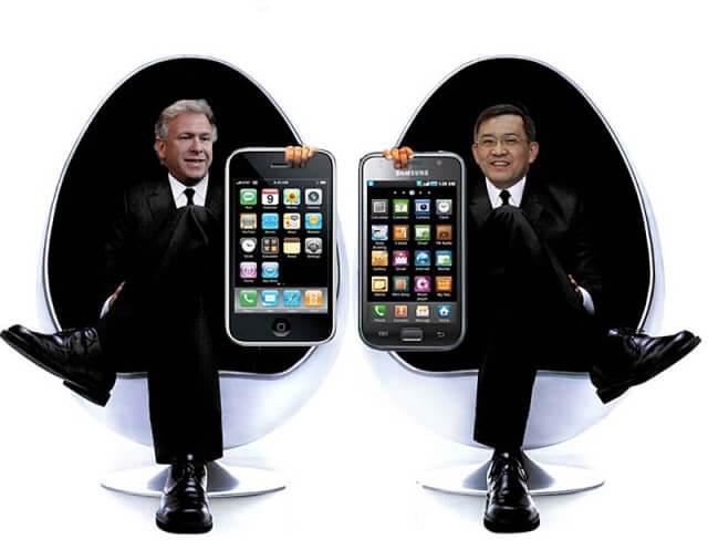 Apple Samsung Men in Black