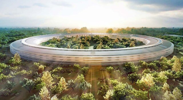 Apple campus edificio anillo