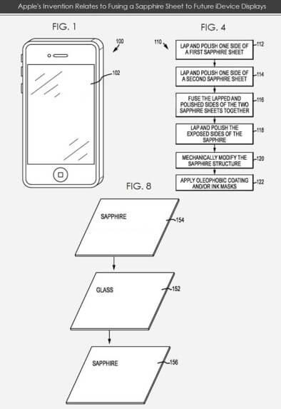 Apple patente Zafiro