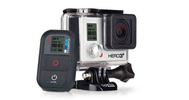 GoPro hero-3+