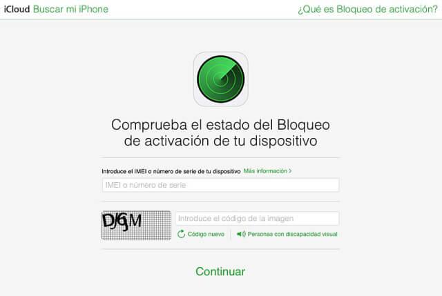 Icloud buscar iPhone bloqueado