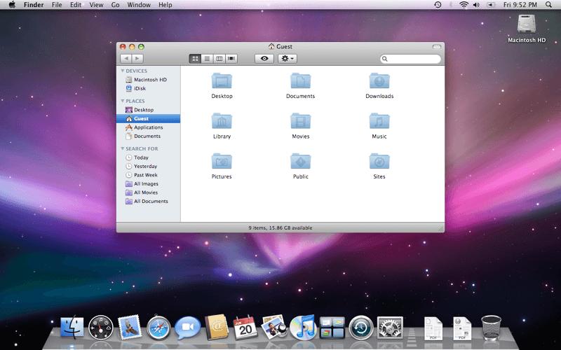 OS X destock