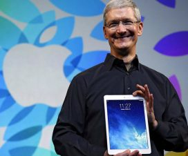 Tim Cook iPad Air presentacion