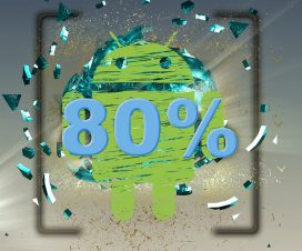 android 80%