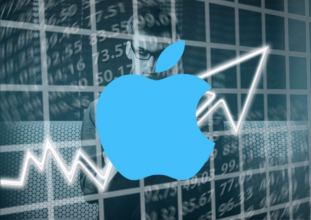 apple subida record