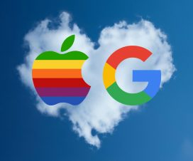 guerra apple google