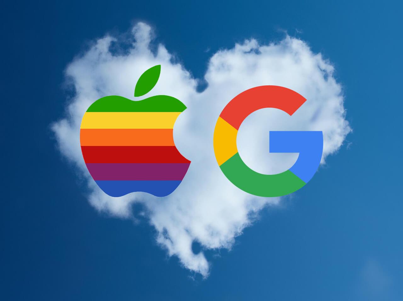 guerra apple google