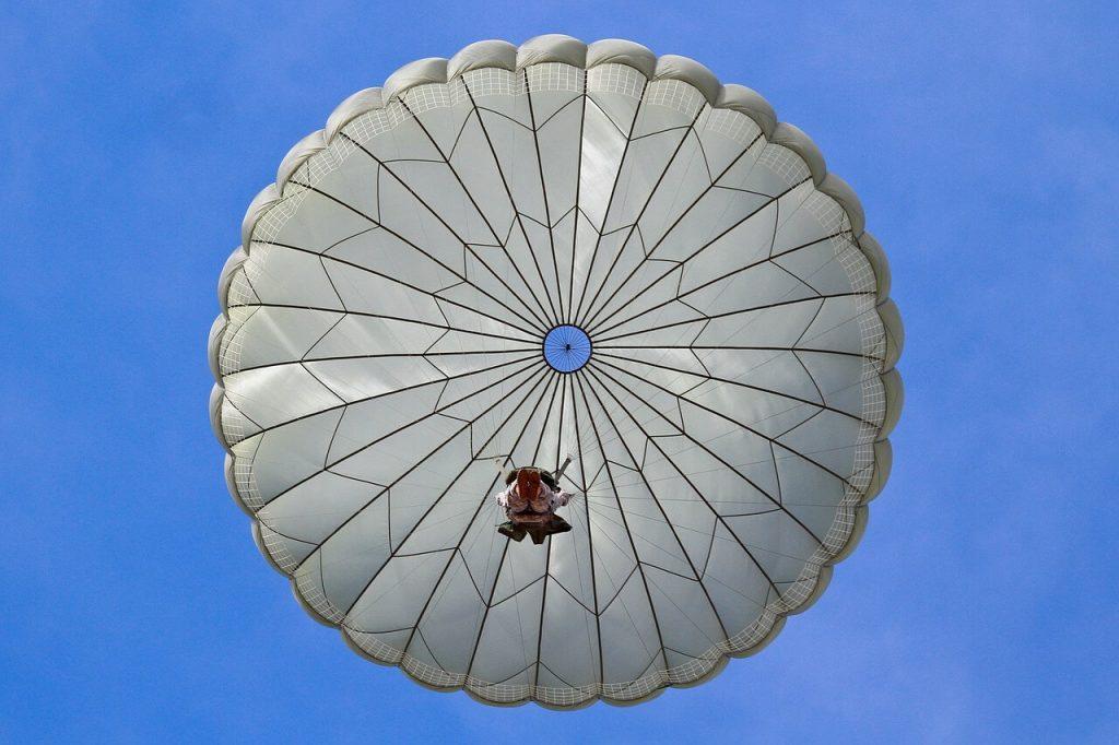 paracaidas iphone