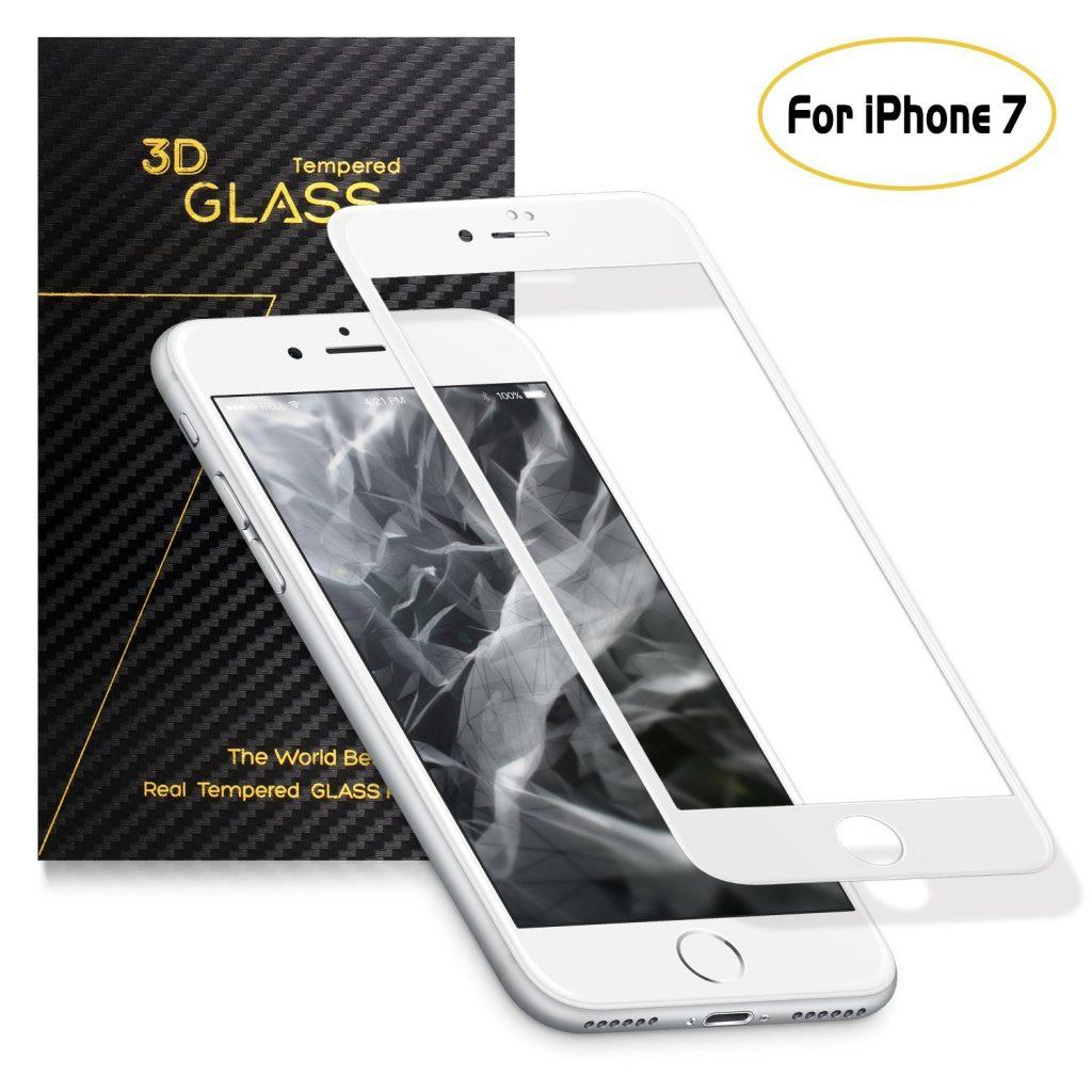 protector pantalla marco blanco iphone 7