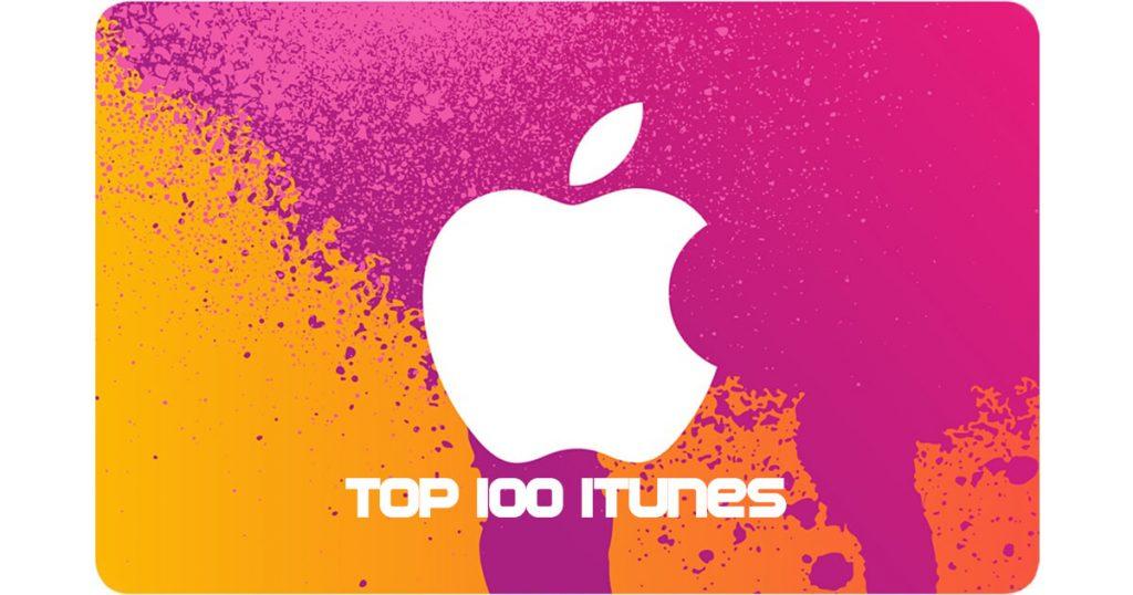 top 100 itunes 2014