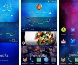 Android Samsung new UI Interface