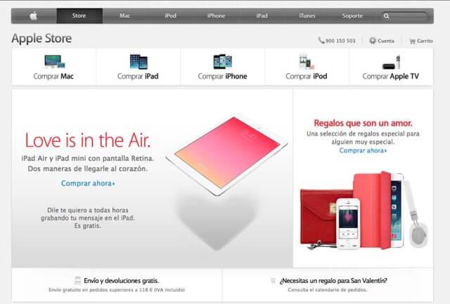 Apple TV tienda