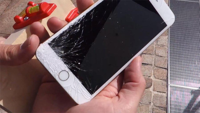 Caida iPhone 6