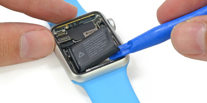 apple watch piezas