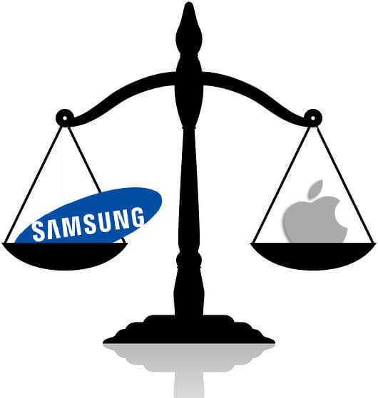 balanza samsung apple