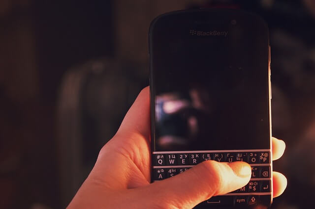 blackberry inyeccion