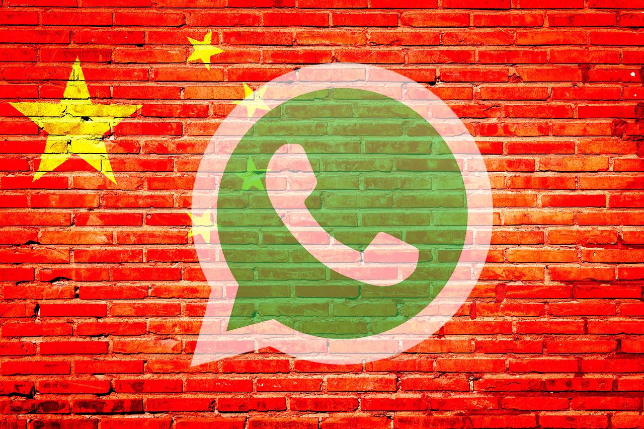 china prohibe whatsapp
