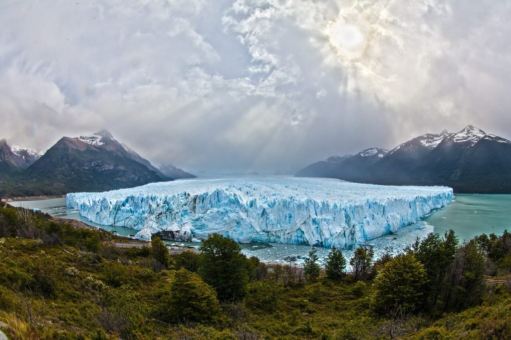 glacial calentamiento global