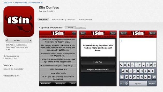 iSin-Confess
