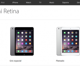 ipad mini retina tienda apple