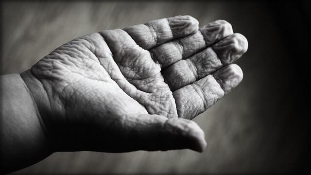 mano de niño