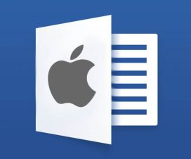 microsoft word apple