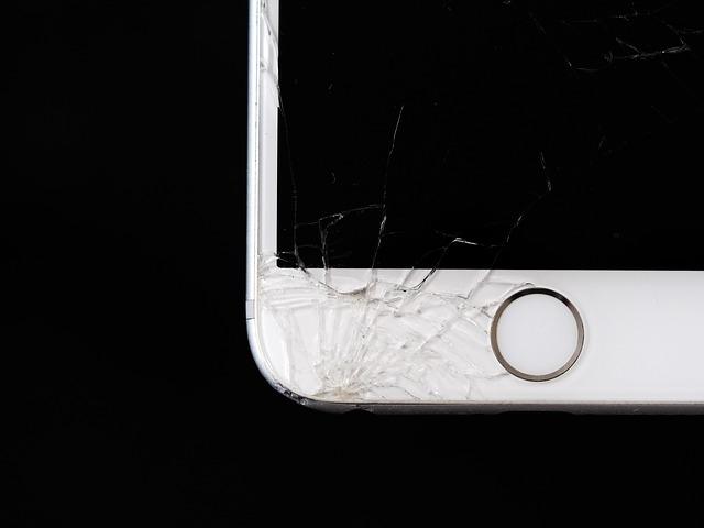pantalla rota iphone 6