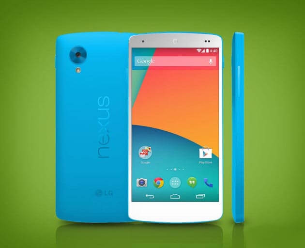 Apertura Nexus 5 Azul