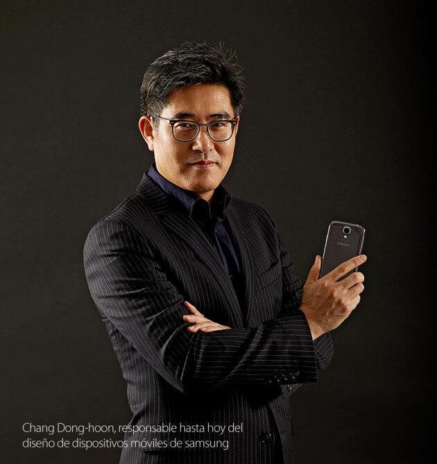 Chang Dong hoon disenio moviles Samsung