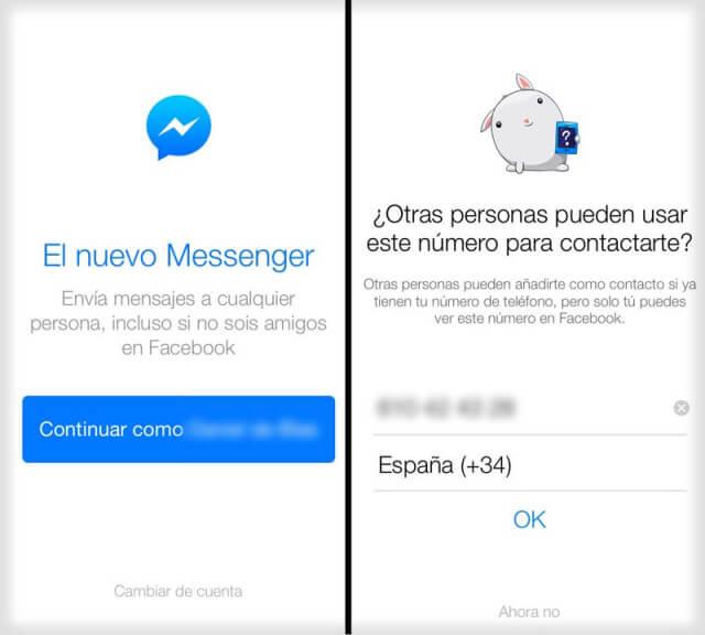 Messenger-Facebook-Inicio