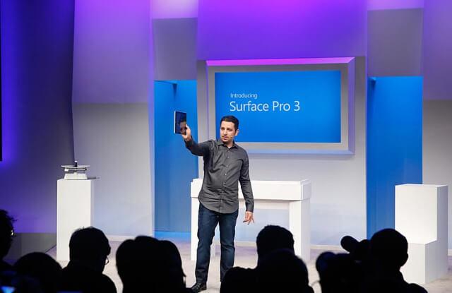 Microsoft presenta Surface-1