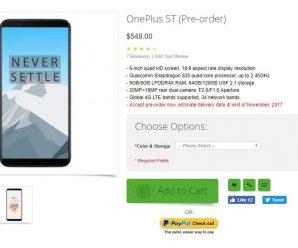 OnePlus5T reserva