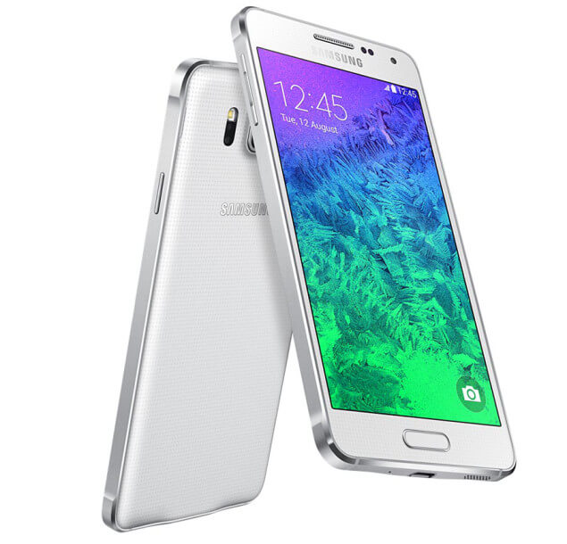 Samsung Galaxy Alpha blanco