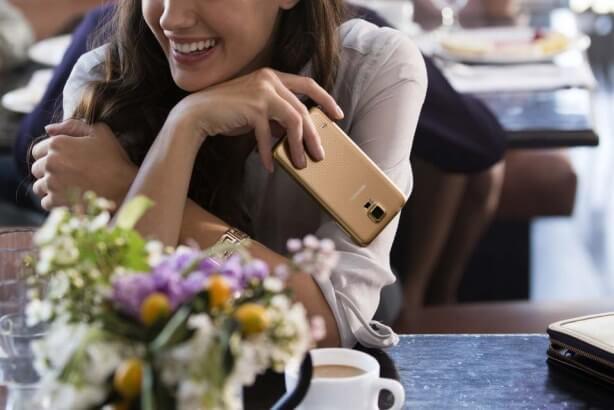 Samsung-Galaxy-S5-dorado