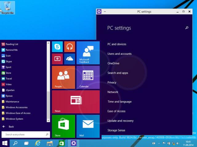 Windows 9 nuevas imagenes
