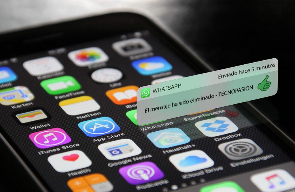 eliminar mensaje whatsapp