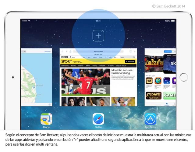 iOS-8 multi ventana explicacion