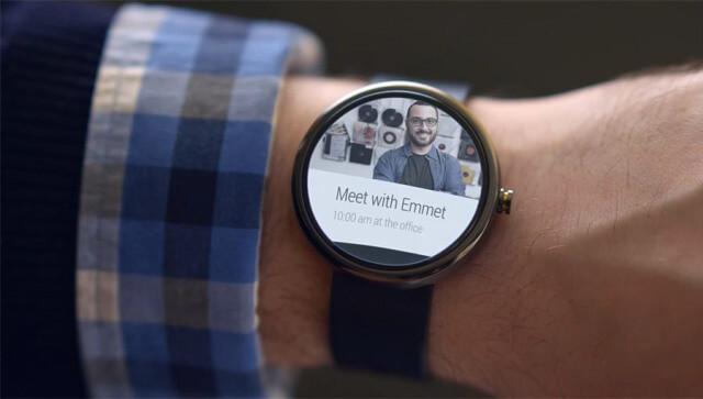 reloj con android wear