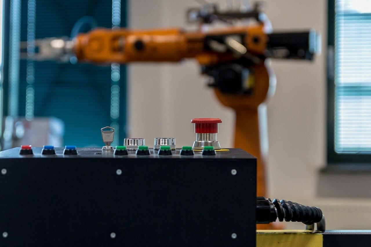 robot cadena de montaje
