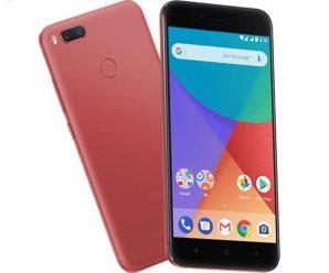 Xiaomi-Mi-A1 color rojo