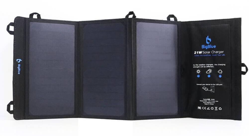 bigblue cargador solar a