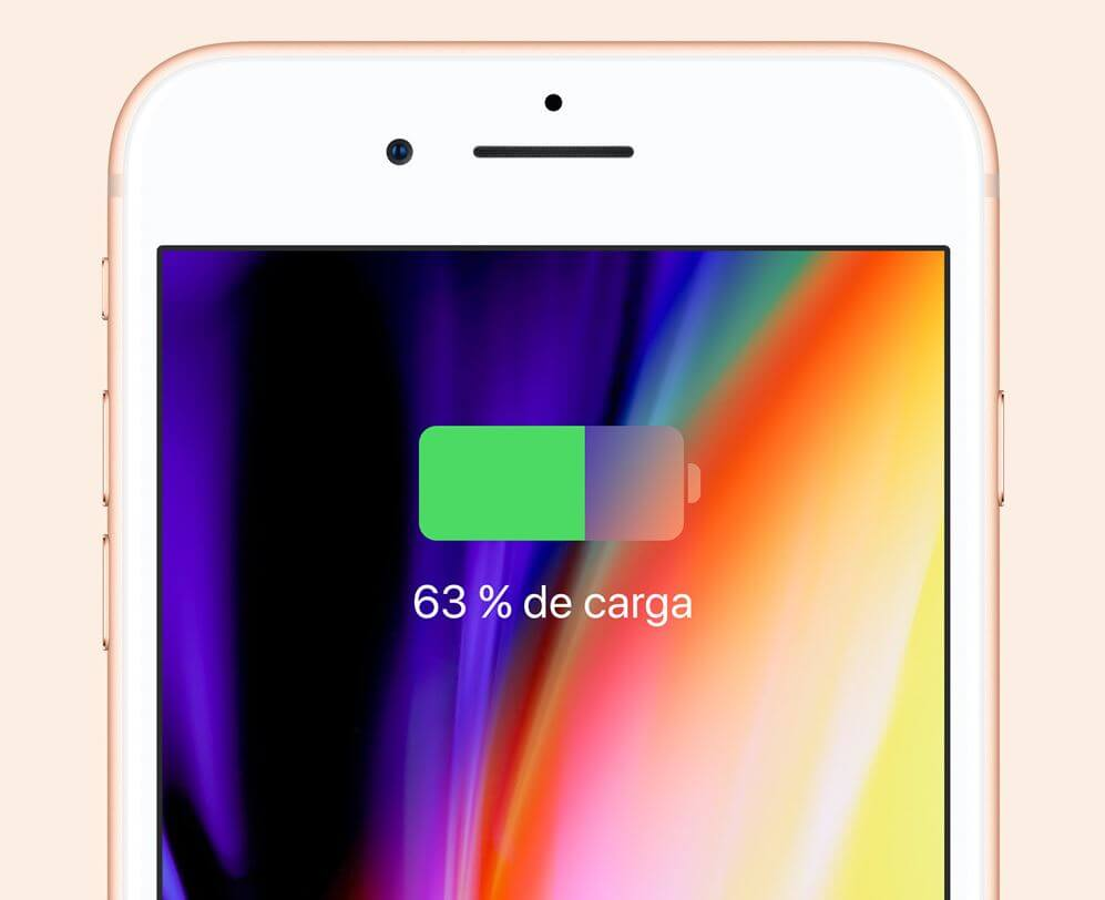 carga iphone 8