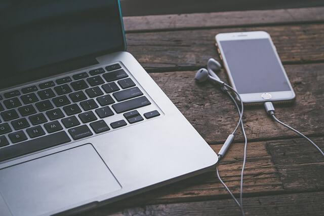 conectar iphone ordenador