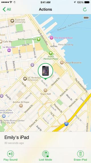 encontrar iphone