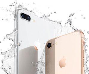 iphone 8 agua
